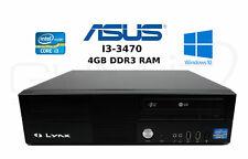 Mini Tower Desktop PC ,Mainboard Asus P8B75-M ,500GB Festplatte ,DVD ,Win10 pro