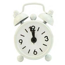 Mini Travel Alarm Clock Round Number Desk Bed Clocks Kids Bedroom