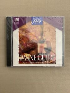 Microsoft Home Wine Guide   PC CD-ROM, 1995   BRAND NEW SEALED