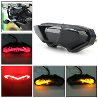 Moto LED Brake Running Tail Light For YAMAHA FJ09 MT-09 Tracer 15-2018 Smoke AUS