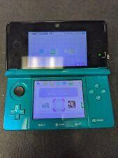 Nintendo 3DS console Aqua Blue Japan NTSC J