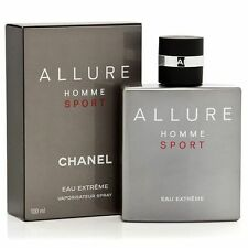 🎁 Chanel Allure Homme Sport Eau Extr. 3 ml Glass Decant 100% Auth w/ Gift Box