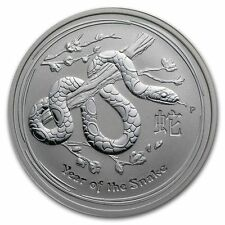 2013 Australia 50 cents Year of the Snake 1/2 oz Lunar silver proof Perth mint