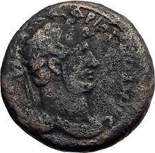 HADRIAN 130AD Philadelphia Arabia Decapolis Hercules Melqart Roman Coin i57962