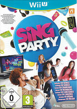 SING PARTY for Nintendo Wii U - PAL