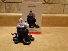 Hallmark Keepsake Ornament 2017 Disney Little Mermaid Ursula Limited Edition Nib