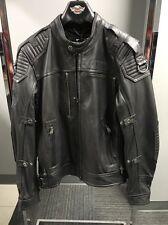 Harley Davidson Men's ROADSHOW Switchback Reflective Leather Jacket L 97081-16VM