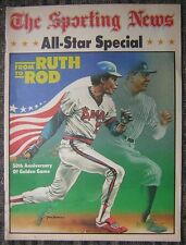 1983 All Star Special 50th Anniversary of Golden Game by The Sporting News