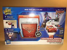 Uncle Milton Wild Walls Disney Cars  Lightning Speed Grand Prix Wallscape New