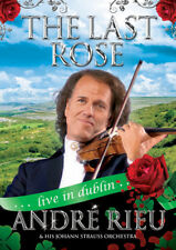 ANDRE RIEU THE LAST ROSE LIVE IN DUBLIN DVD NEW REGION 0