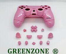 Rosa Brillante Personalizada reemplazo completo Shell Mod Kit Para Playstation 4 Controlador