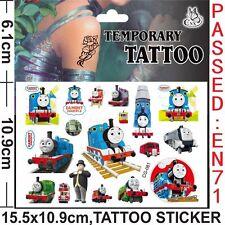 Thomas THE TANK ENGINE CARTOON organismo temporaneo tatuaggio Childrens Party Bag Filler