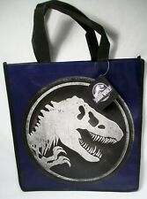 """RARE BRAND NEW JURASSIC WORLD MOVIE 12.5""""x13"""" LIMITED EDITION SHOPPING TOTE BAG!"""