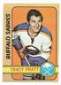 1972-73 O-Pee-Chee #69 Tracy Pratt Buffalo Sabres