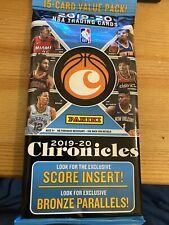 2019-20 PANINI NBA CHRONICLES FAT PACK ZION/JA/RJ