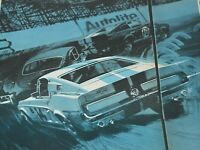 1967 Vintage Print Ad Ford Shelby Mustang GT 350 American Autolite 2 Page Spark