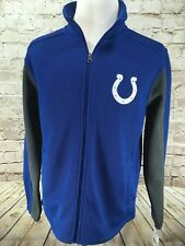 NWT Men's NFL Indianapolis Colts Full Zip Jacket MEDIUM WITH TAGS  #C1