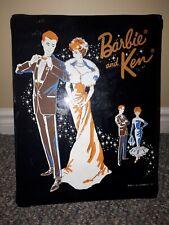 Vintage Barbie & Ken Carrying Case Wardrobe 1963 mattel Canadian rare
