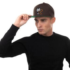 THE DUDES Baseball Cap One Size Wool Blend Embroidered Duck Flat Peak Snapback