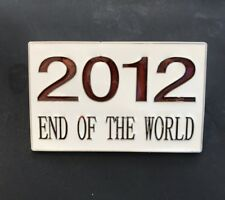 2012 END OF THE WORLD DOOMSDAY MAYAN CALENDER BELT BUCKLE BOUCLE DE CEINTURE