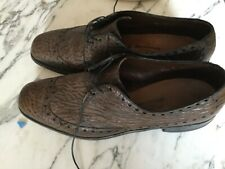 Vintage Allen Edmonds Nassau Sharkskin Wingtip brogues  uk size 12 13 excellent