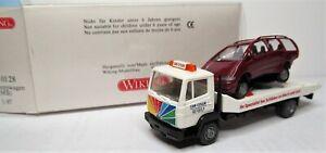 Wiking 1:87 Mercedes Benz 817 Abschleppwagen + VW Sharan OVP 633 01 siehe Text