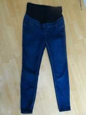 NEW LOOK MATERNITY ladies blue denim emilee over bump jeggings jeans UK 12