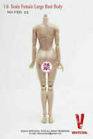 VERYCOOL FX01B 1/6 Female Suntan Large Breast Figure Body 12'' Action Figure