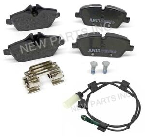 Jurid Front Brake Pad Set and Sensors Kit For Mini R55 Cooper 2009-2011