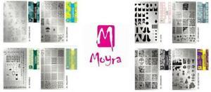 Moyra Nail Polish Stamping Polish Gel, Foil, Chrome