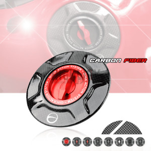 Carbon Twill Racing Fuel Tank Cover Gas Caps for Ducati STREETFIGHTER 1098 10-15
