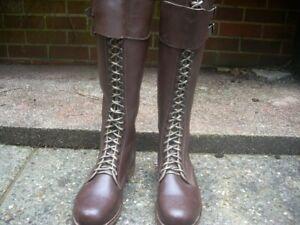 Ww2 German N.S.D.A.P. / S A Kampfzeit tall boots reproduction size eu 43 uk 9 .