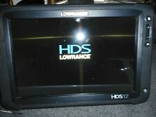 Lowrance HDS 12 Gen 2 Touch Fishfinder Graph -SS Transducer, Power, GPS, Bracket