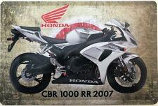 Blechschild 30 X 20 cm Honda CBR 1000 RR 2007
