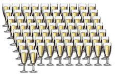 72 Sektgläser Sektglas 14,5cl ohne Füllstrich - Arcoroc