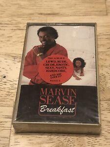 BRAND NEW SEALED Marvin Sease - Breakfast - Cassette Tape Lewd Raunchy Hip Hop