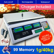 40KG Kitchen Scale Digital Commercial Electronic Food High Quality Weight Scales