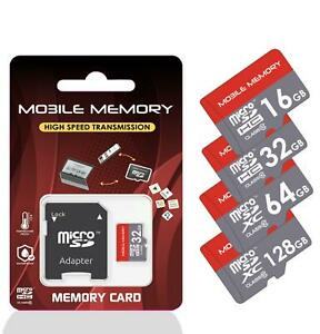 Micro SD Karte 32GB/64GB/128GB/256GB/4GB/8GB/16GB Speicherkarte Smartphone Handy