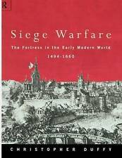 Siege Warfare: The Fortress in the Early Modern World 1494-1660 (Vol-ExLibrary