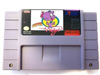 Super Widget SUPER NINTENDO SNES GAME Tested + Working & Authentic! Very Good!