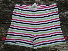 NWT Gymboree Girls Shorts Size 6 Palm Beach Paradise Stripes Bows 100% Cotton