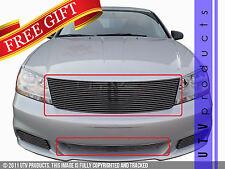 GTG 2011 - 2014 Dodge Avenger 2PC Polished Replacement Billet Grille Grill Kit
