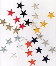 Patch Ecusson Thermocollant 3 Petites ETOILES Coloris au choix 3 x 3 cm etoile