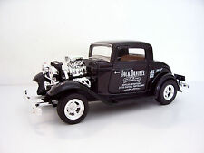 1932 Ford Coupe - HotRod Jack Daniel's Custom Graphics - 1/24 Black Diecast