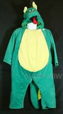 Toddler Boy Girl Crisha Playful Plush One Piece Green Dragon Costume Ages 2-4