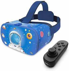 VR Headset for Kids, 110°FOV Anti-Blue Light Eye Protected HD Virtual  7.2""