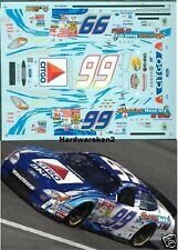 NASCAR DECAL #99  CITGO PEEL OUT,REEL IN and WIN 2002 FORD TAURUS SLIXX