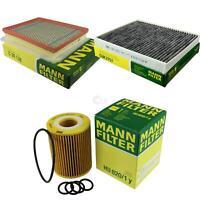 MANN-FILTER PAKET Luftfilter Innenraumfilter Ölfilter Vauxhall Zafira MK II (B)