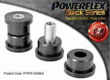 Toyota Mr2 3s-fe/ge Sw20 Powerflex Black Rear Tie Bar Front Bushes Pfr76-304blk