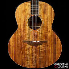 NEW LOWDEN F-50 NAMM ACOUSTIC GUITAR KOA BACK, SIDES AND TOP CUSTOM INLAY PKG